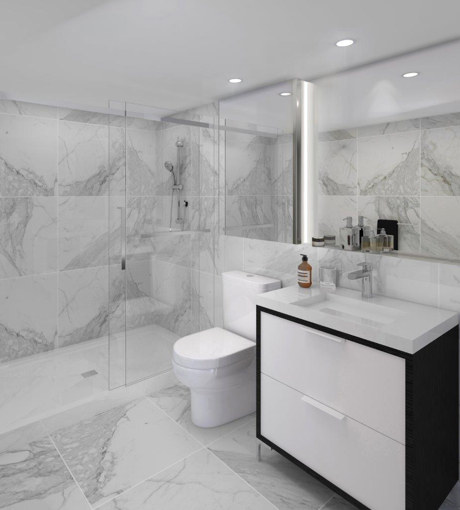 Marble Inspired Bathroom
